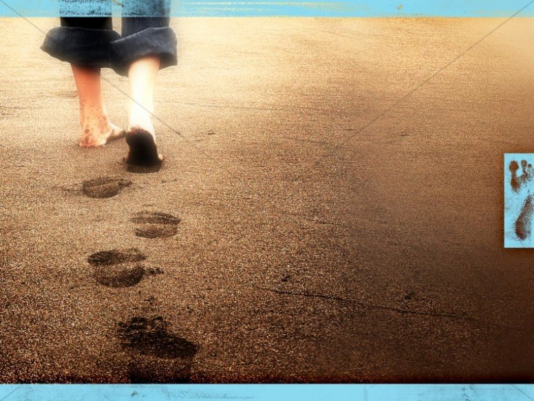 Father's Day Backgrounds Powerpoint Best Of A Father S Footsteps Worship Background Slide