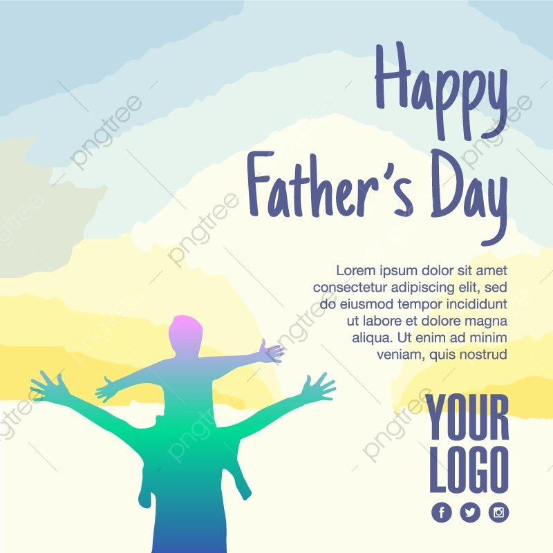 Father's Day Backgrounds Powerpoint Elegant Happy Father S Day Father S Day Fathers Vector Father