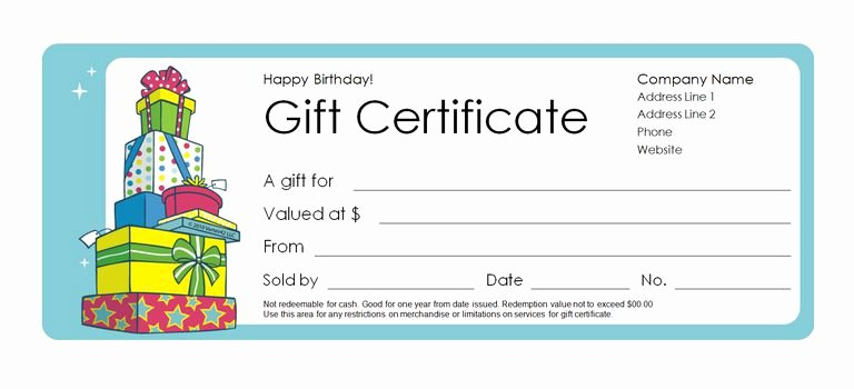Father's Day Gift Certificate Template Awesome 173 Free Gift Certificate Templates You Can Customize