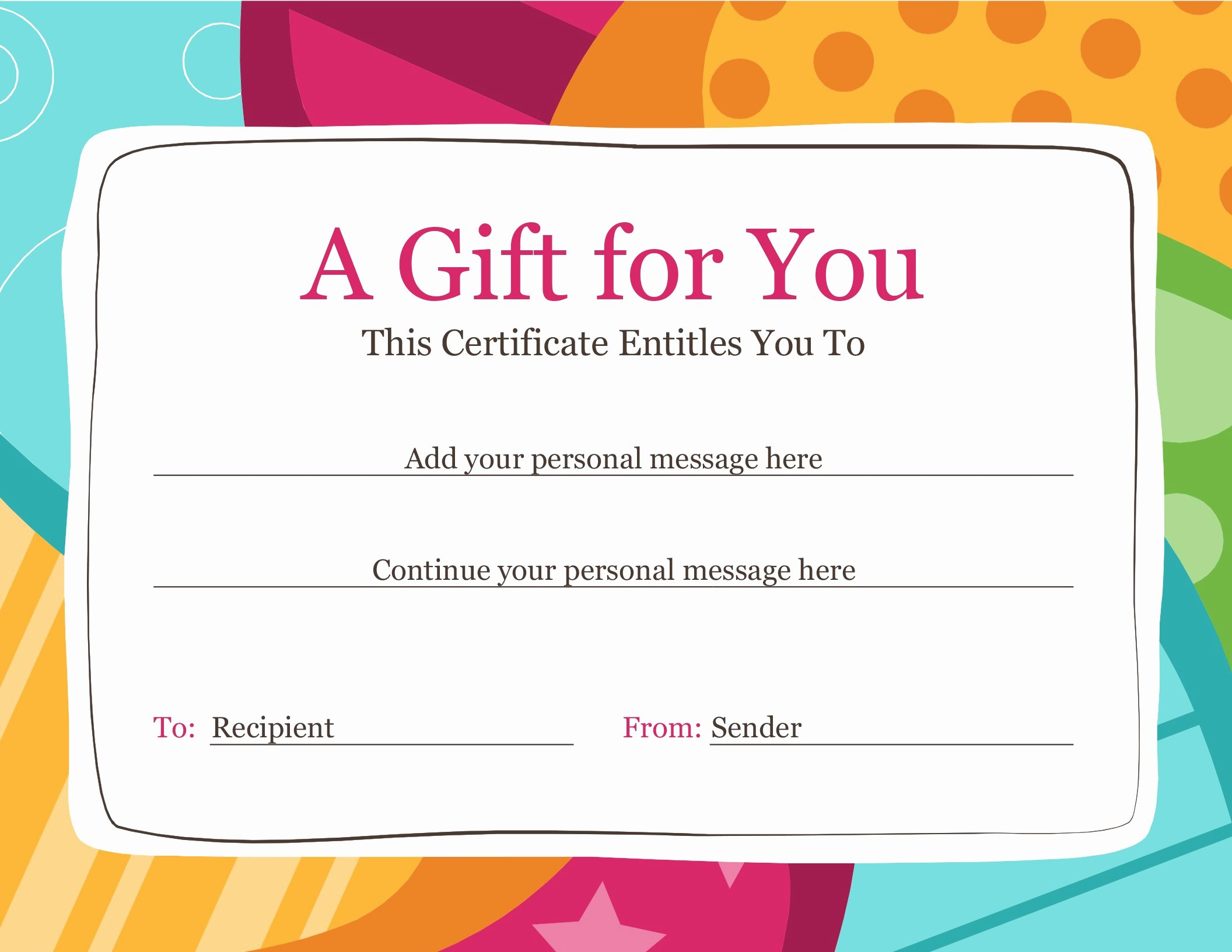 Father's Day Gift Certificate Template Awesome Certificates Fice
