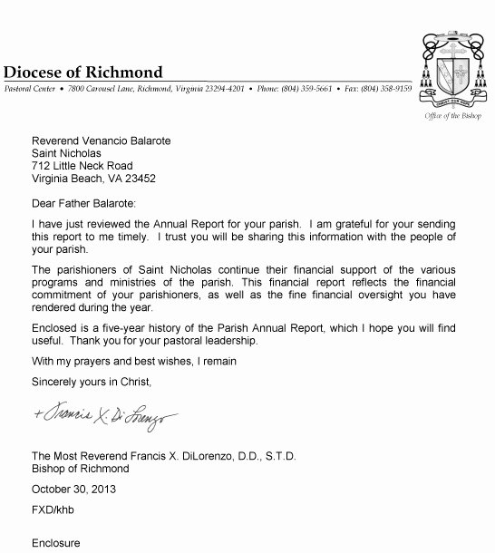 Financial Statement Letter Lovely Best S Of Model Church Financial Statement Church