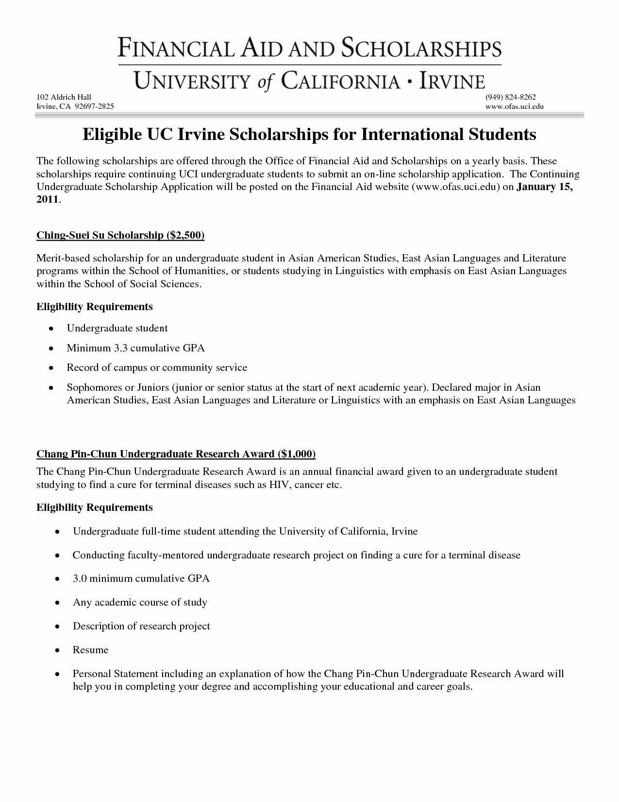 Financial Statement Letter Sample Unique Financial Need Scholarship Letter Examples