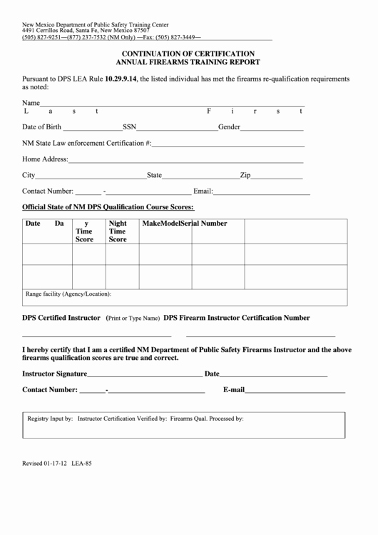 Firearms Training Certificate Template Awesome top 124 New Mexico Legal forms and Templates Free to