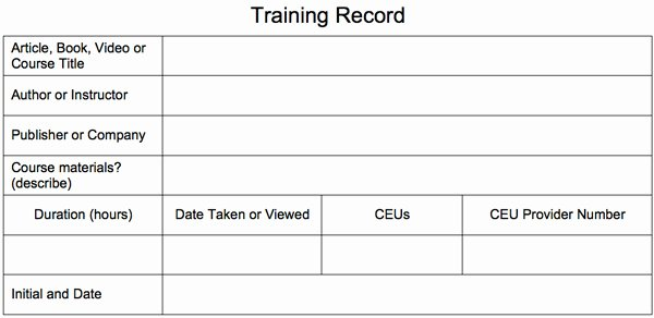 Firearms Training Certificate Template Fresh Free Training Record From Security Training Center Llc