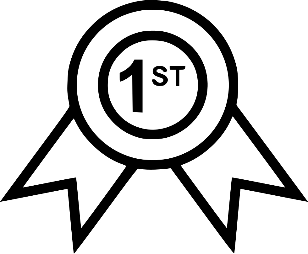 First Place Ribbon Png Unique Ribbon First Place Good Svg Icon Free Download