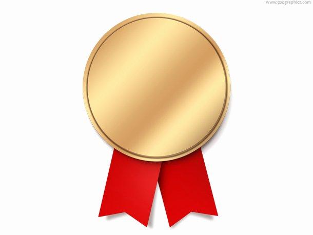 First Place Ribbon Printable New 19 Award Ribbon Psd Templates Gold Medal Ribbon