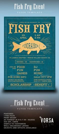 Fish Fry Flyer Examples Beautiful Free Fish Fry Flyer Templates Fish Fry Poster