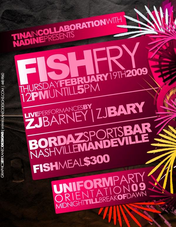 Fish Fry Flyer Examples Best Of Fish Fry Flyer by Kanections On Deviantart