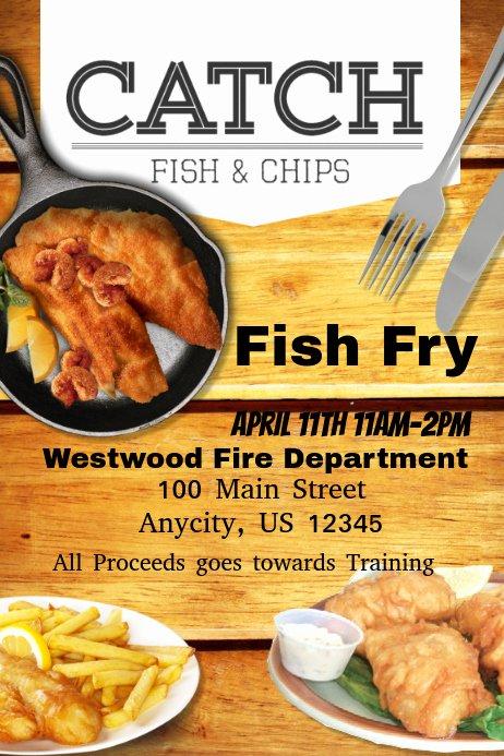 Fish Fry Flyer Examples Elegant Fish Fry
