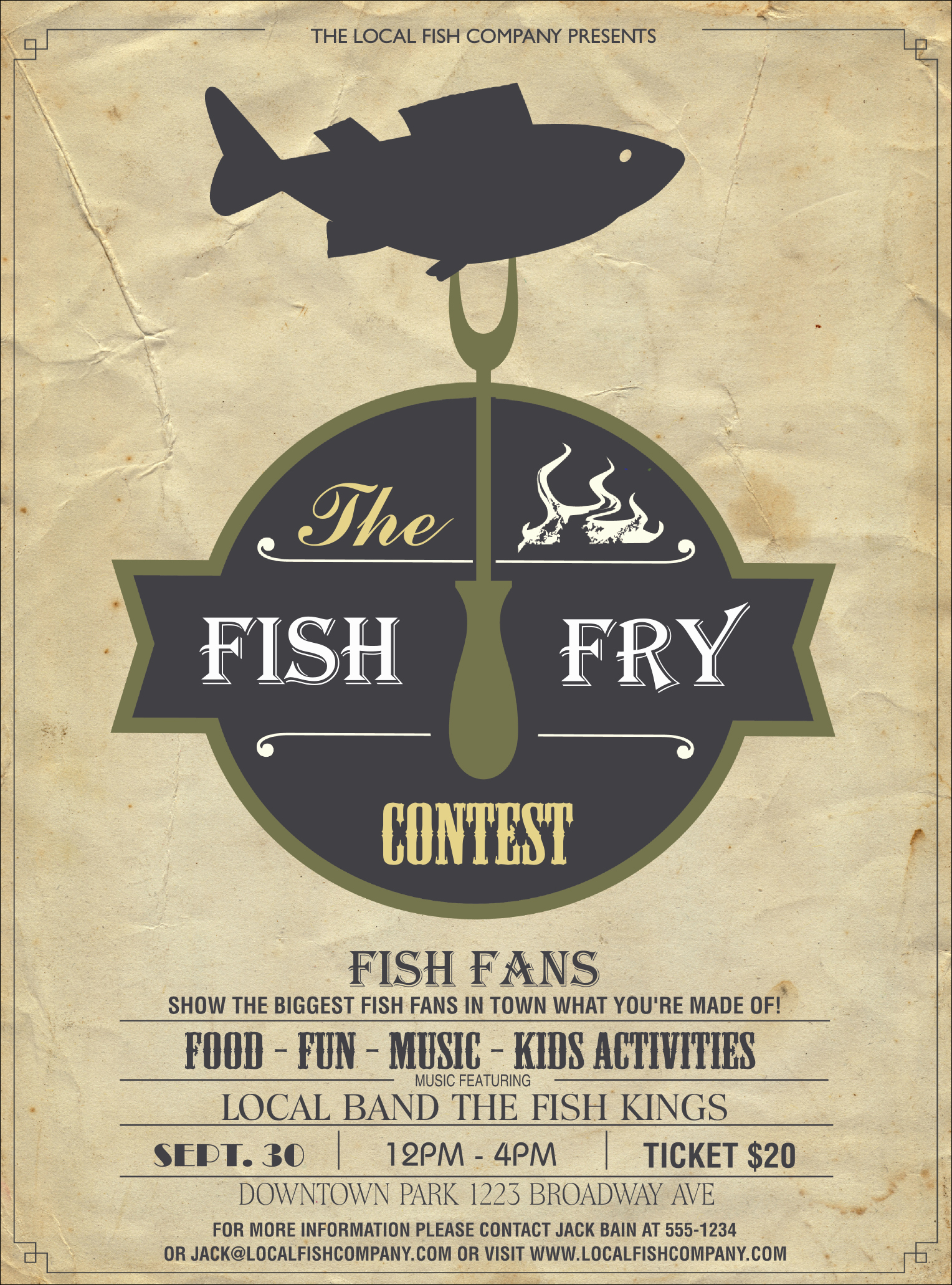 Fish Fry Flyer Examples New Fish Fry Flyer