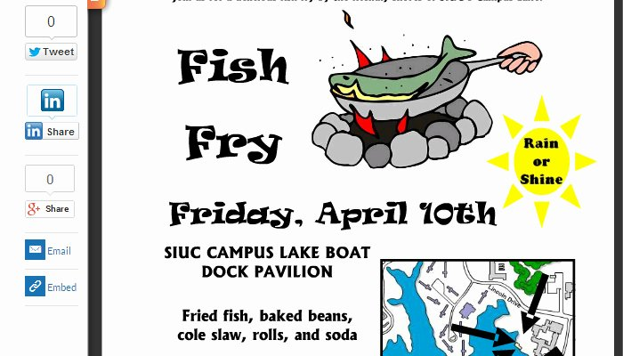 Fish Fry Flyer Examples New Free Fish Fry Invitations