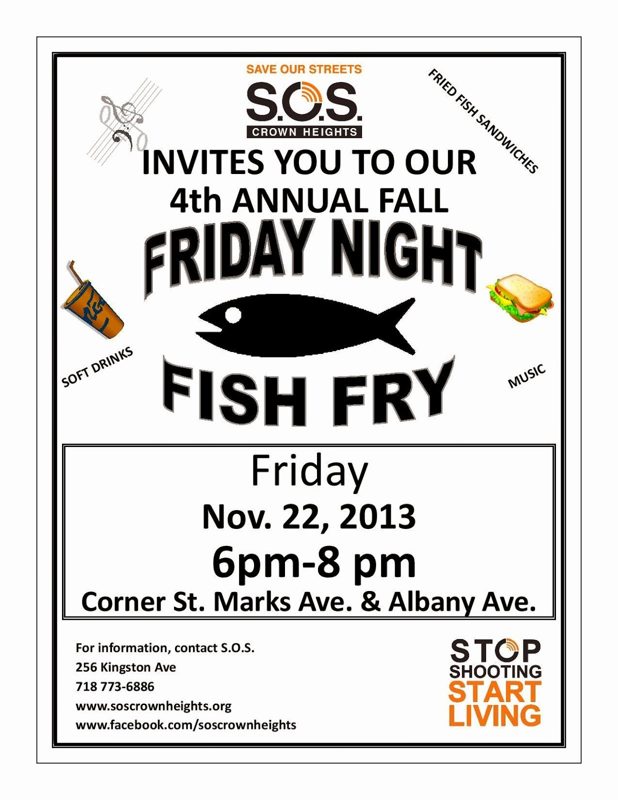 Fish Fry Flyer Examples Unique Church Fish Fry Clipart Clipart Suggest
