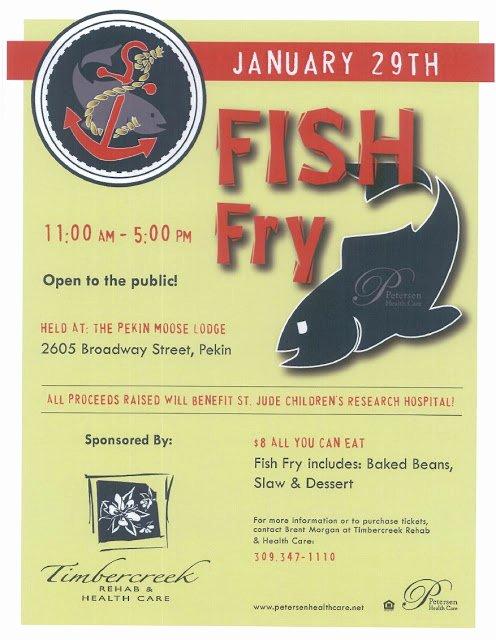 Fish Fry Flyer Microsoft Word Awesome Pekin area Chamber Of Merce January 2011