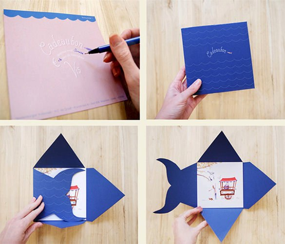 Fishing Gift Certificate Template Awesome 20 Gift Card Envelope Templates Psd Ai Vector Eps