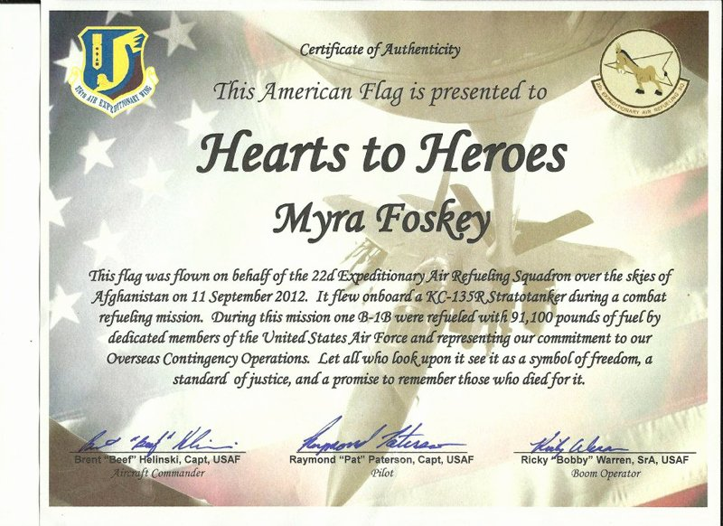 Flag Flown Certificate Template Inspirational Us Flag Certificate Template