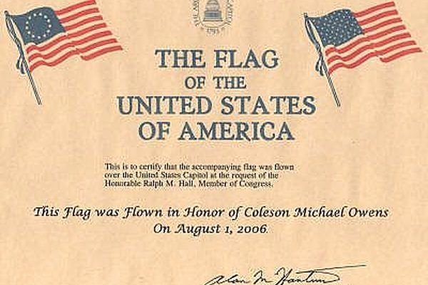 Flag Flying Certificate Template New How to Get A Flag Flown Over the Us Capitol