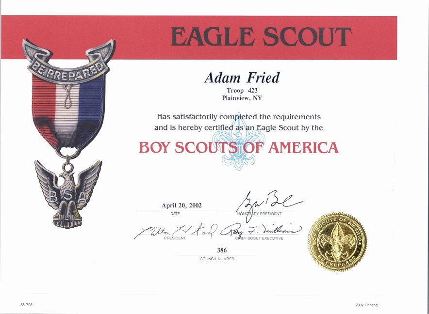 Flag Flying Certificate Template New My Eagle Certificates and Other Recognitions