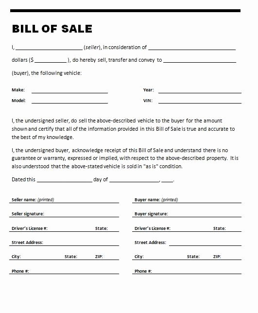 Florida Bill Of Sale Trailer Elegant Printable Sample Printable Bill Of Sale for Travel Trailer