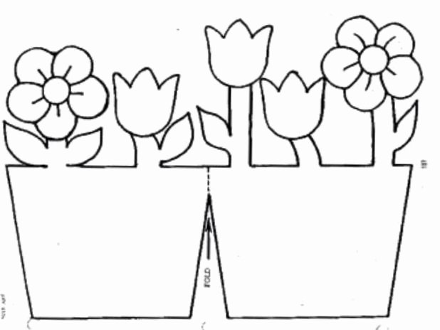 Flower Pot Template New 589 Best Coloring Pages & Basic Patterns Templates for
