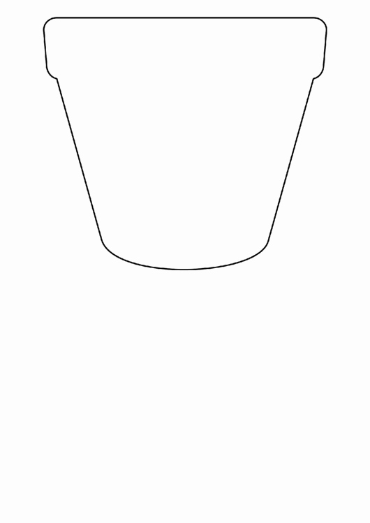 Flower Pot Template to Print Beautiful top 6 Flower Pot Templates Free to In Pdf format