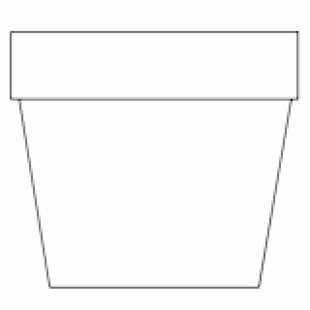 Flower Pot Template Unique Free Printable Coloring Pages for Adults