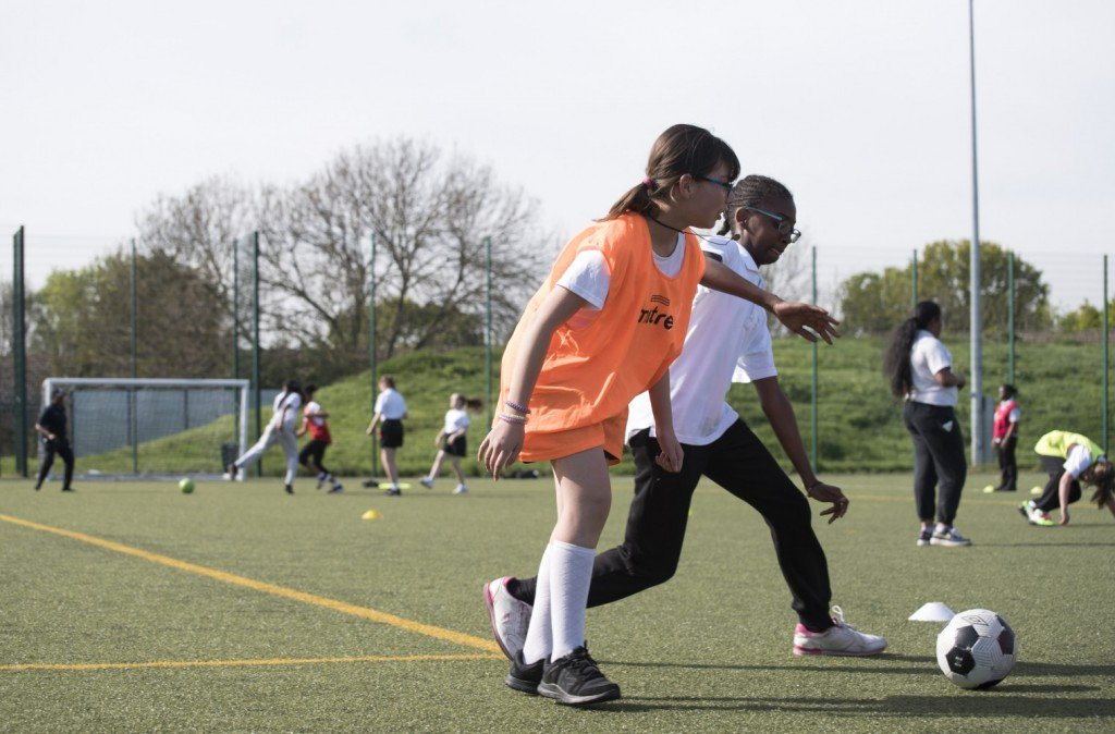 Football Border for Word New Football Beyond Borders Building Resilient Young Women