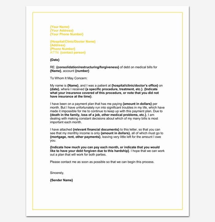Forgiveness Letter for Immigration Sample Beautiful Medical Hardship Letter Template Word Doc Sample