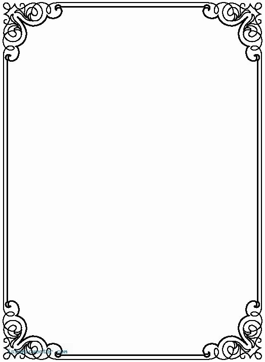 Formal Black and White Borders for Word Lovely Free Microsoft Borders and Frames Wow Image