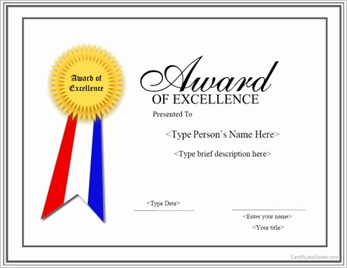 Formats for Scholarship Certificates Beautiful Free 13 Sample Certificates In Pdf Word