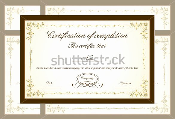 Frame for Certificate Of Appreciation Fresh 30 Certificate Of Appreciation Templates Word Pdf Psd