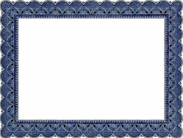 Frame for Certificate Of Appreciation Inspirational Certificate Border Projects to Try