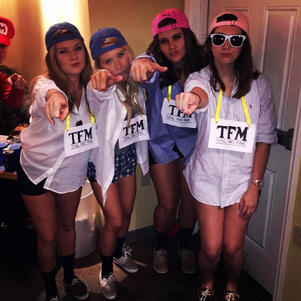 Frat Halloween Costume Ideas New total Frat Move