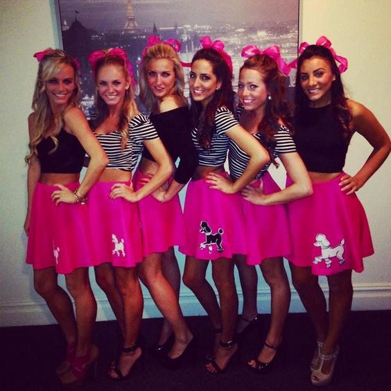 Frat Halloween Costume Ideas Unique Skirts Group Costumes and sorority On Pinterest