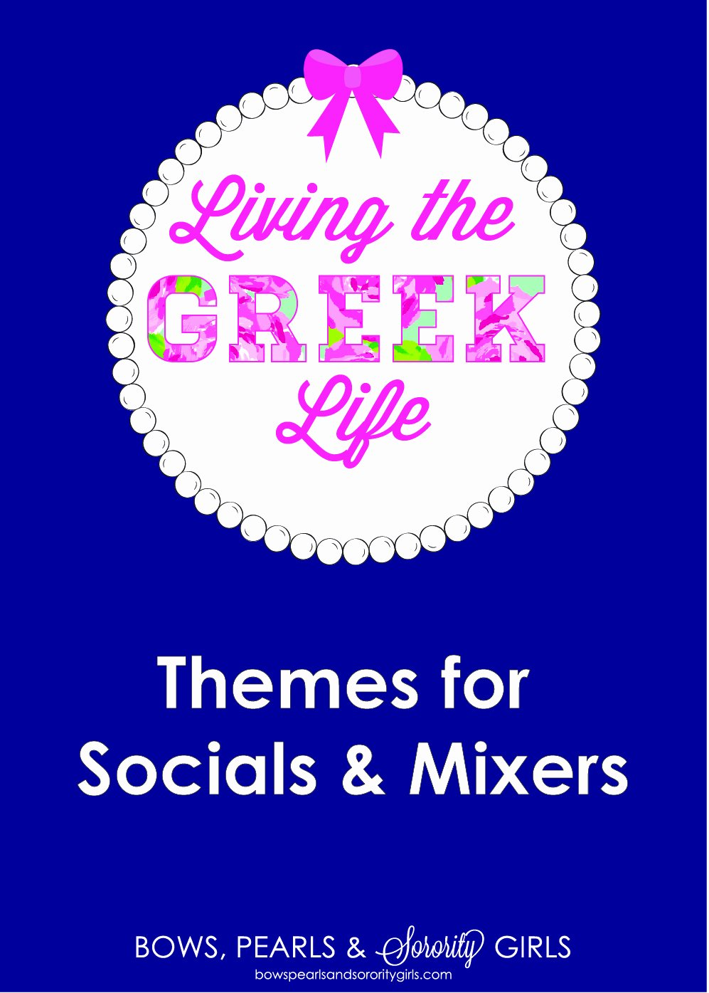 Fraternity formal Awards Ideas Beautiful Bows Pearls & sorority Girls Living the Greek Life