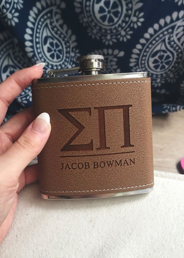 Fraternity formal Awards Ideas Lovely Eeeppp 2015 Sigma Pi Fraternity Personalized Leather
