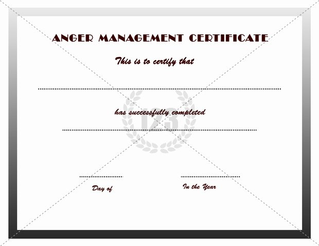 Free Anger Management Certificate Template Awesome Deacon ordination Certificate Templates Templates