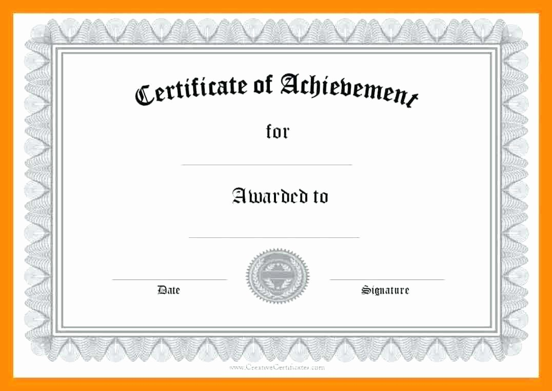 Free Anger Management Certificate Template Lovely Anger Management Certificate Pletion Quick