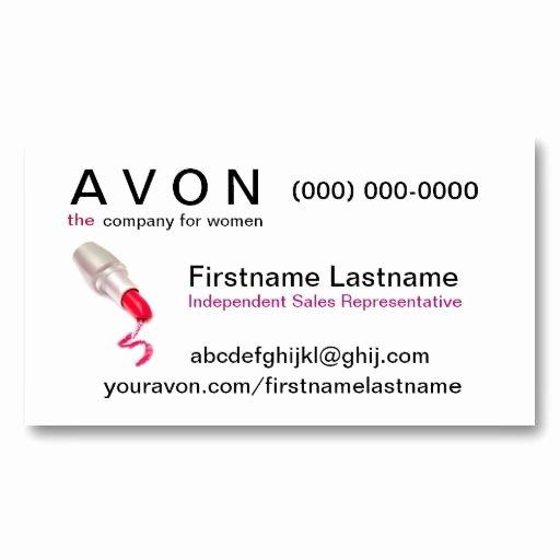 Free Avon Gift Certificate Template Elegant Avon Business Card