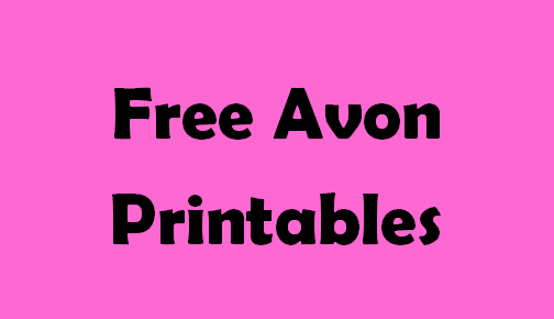 Free Avon Gift Certificate Template Unique Pin On Free Avon Printables