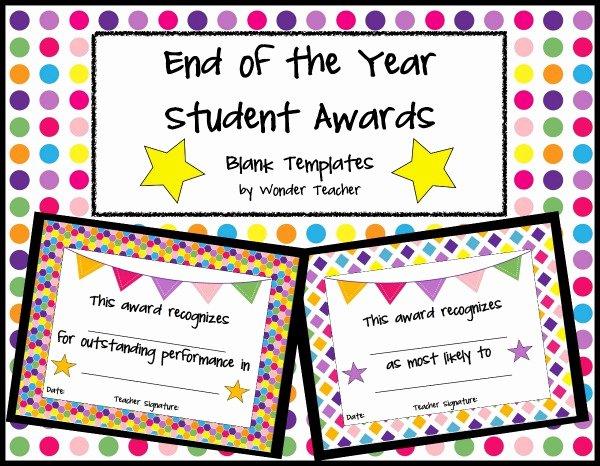 Free Award Templates for Teachers Inspirational Teachers Pay Teachers