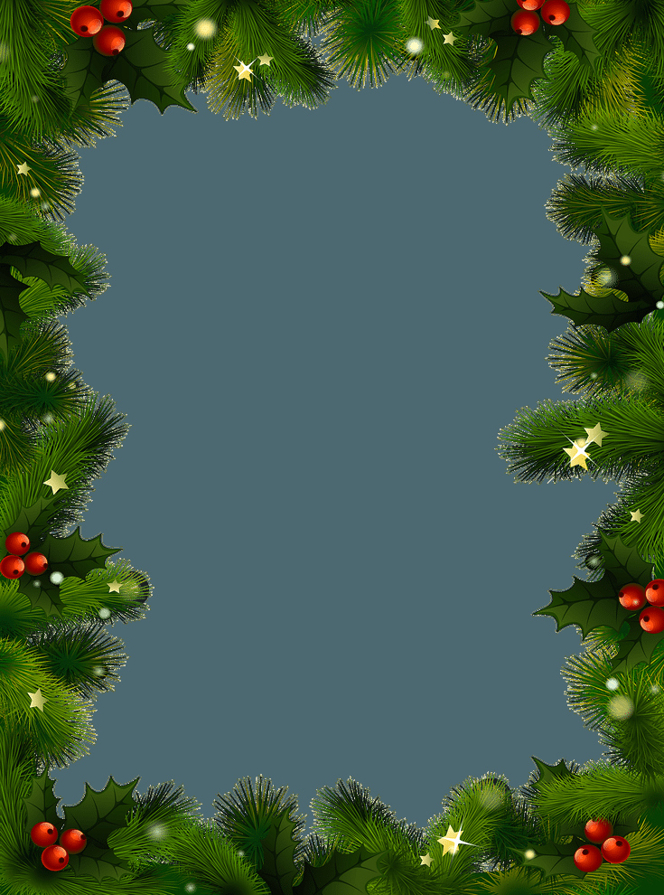 Free Backgrounds for Word Lovely Free Christmas Borders and Frames