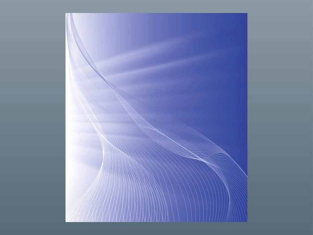 Free Backgrounds for Word Unique Abstract Curved Lines
