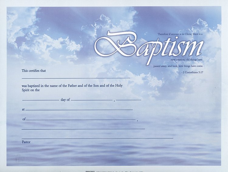 Free Baptism Certificate Template Fresh 28 Of Baptism Certificate Template Pdf