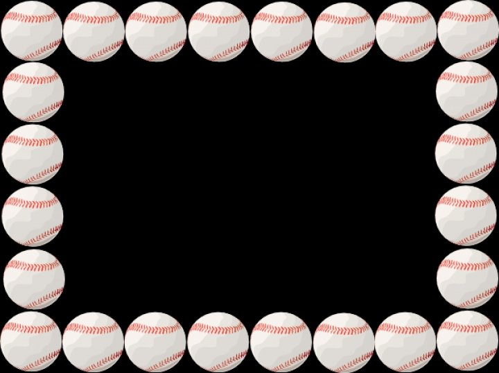 Free Baseball Borders for Word Documents Inspirational Baseball Border Clip Art Free Clipground