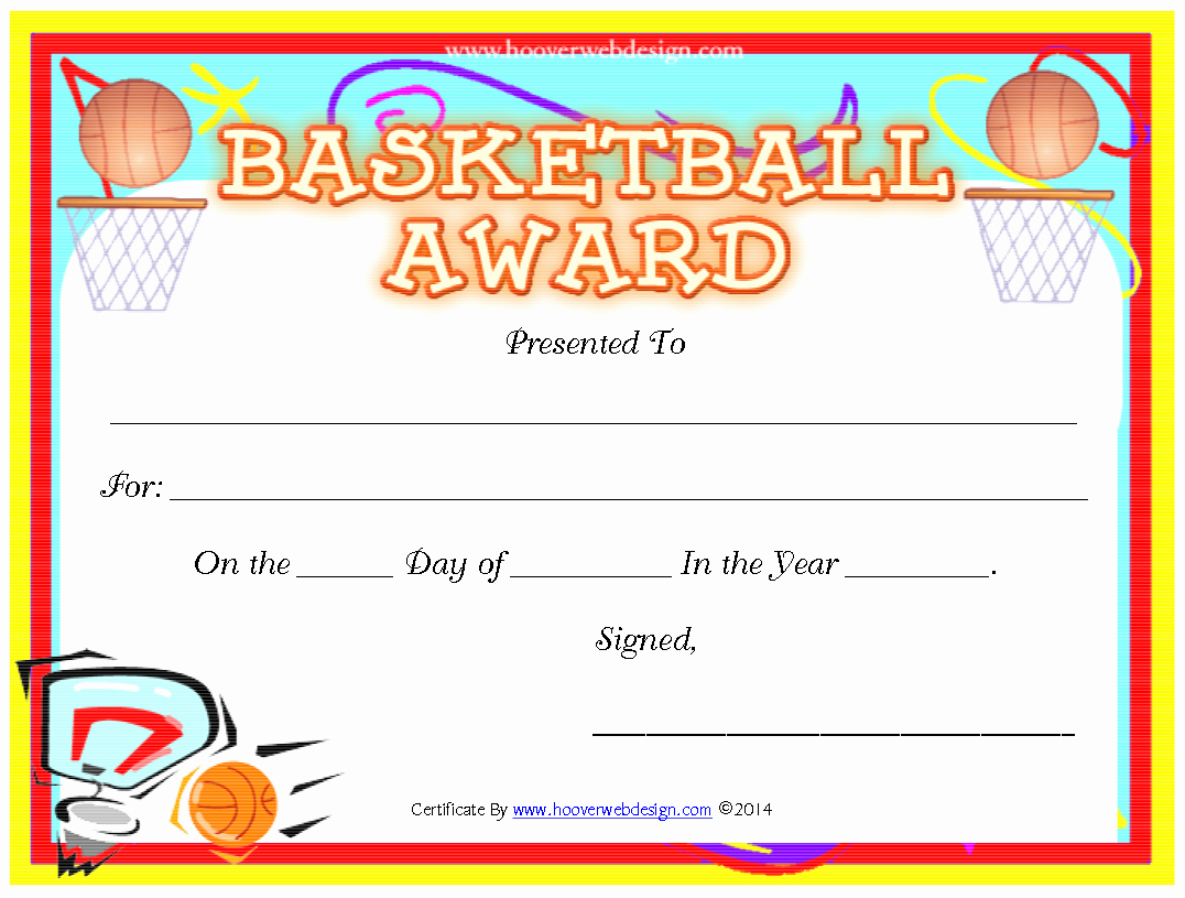 Free Basketball Certificates to Print Lovely Pin by Crafty Annabelle On Basketball Printables