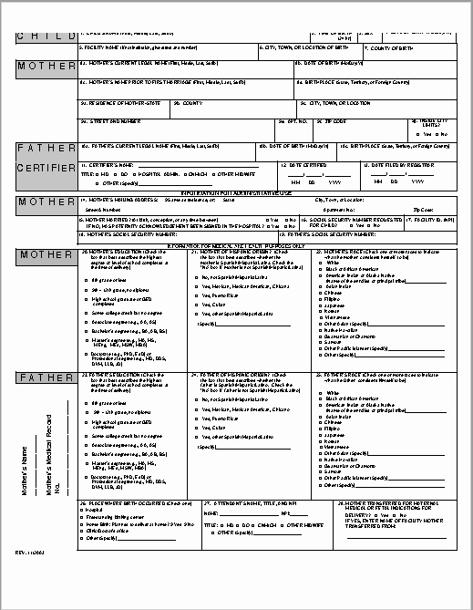 Free Birth Certificate Template Fresh 14 Free Birth Certificate Templates In Ms Word & Pdf