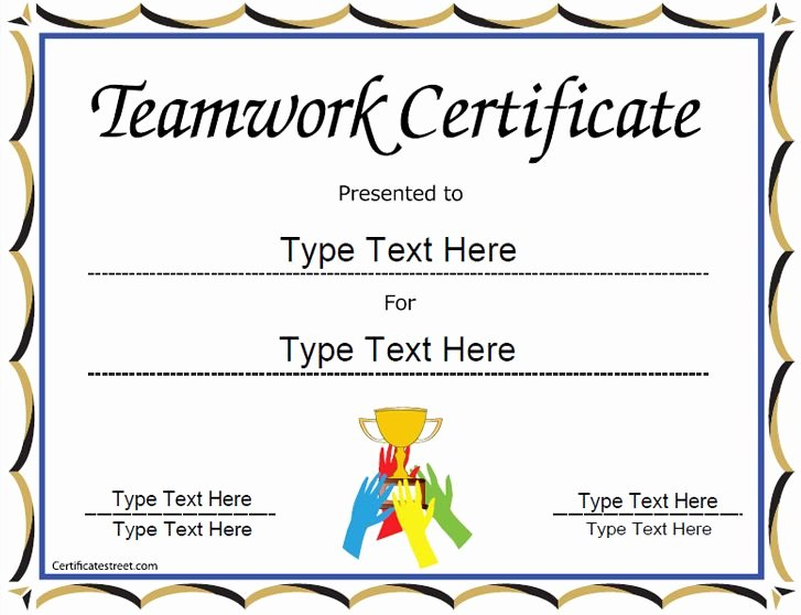 Free Black Belt Certificate Template Best Of Special Certificate Team Work Certificate