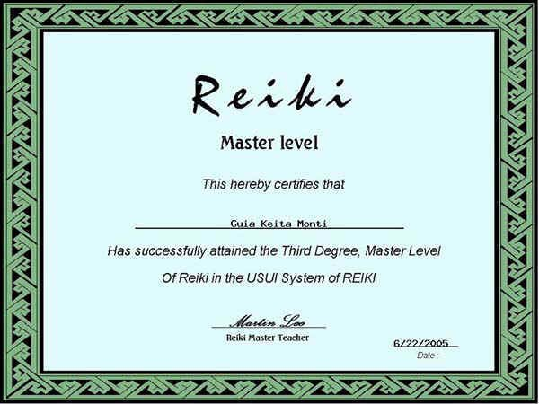 Free Blank Reiki Certificates Awesome Free Reiki Mastery