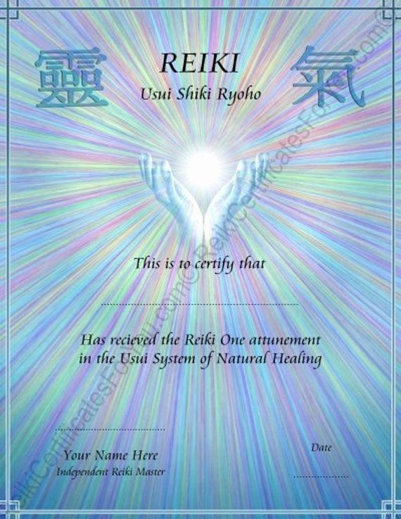 Free Blank Reiki Certificates Inspirational 30 Free Blank Reiki Certificates