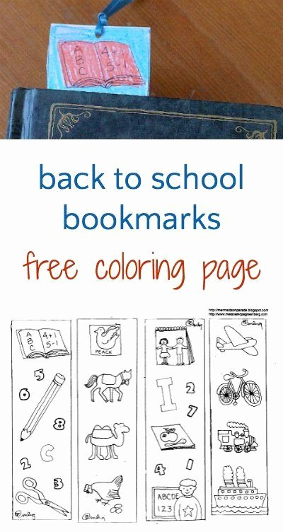 Free Bookmarks for Schools Awesome 17 Best Images About Back to School Crafts On Pinterest